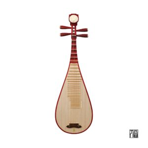 Bo Yue Model 300 Vanished Rosewood Pipa Front Wood