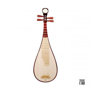 Bo Yue Model 200 Hardwood with Rosewood Varnish Pipa