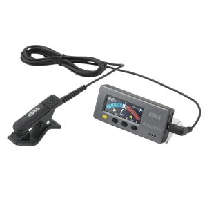 Korg Slimpitch Chromatic Tuner with Microphone in Black